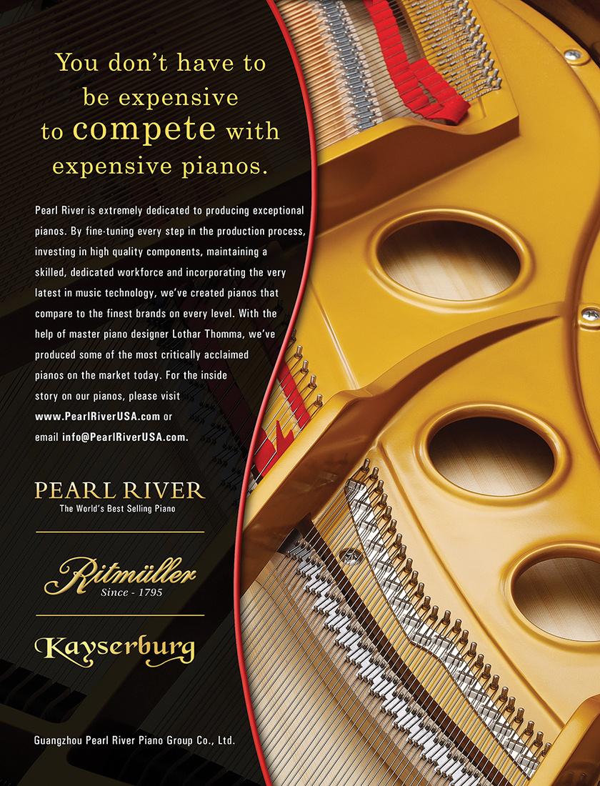 Pearl River Piano brand ad