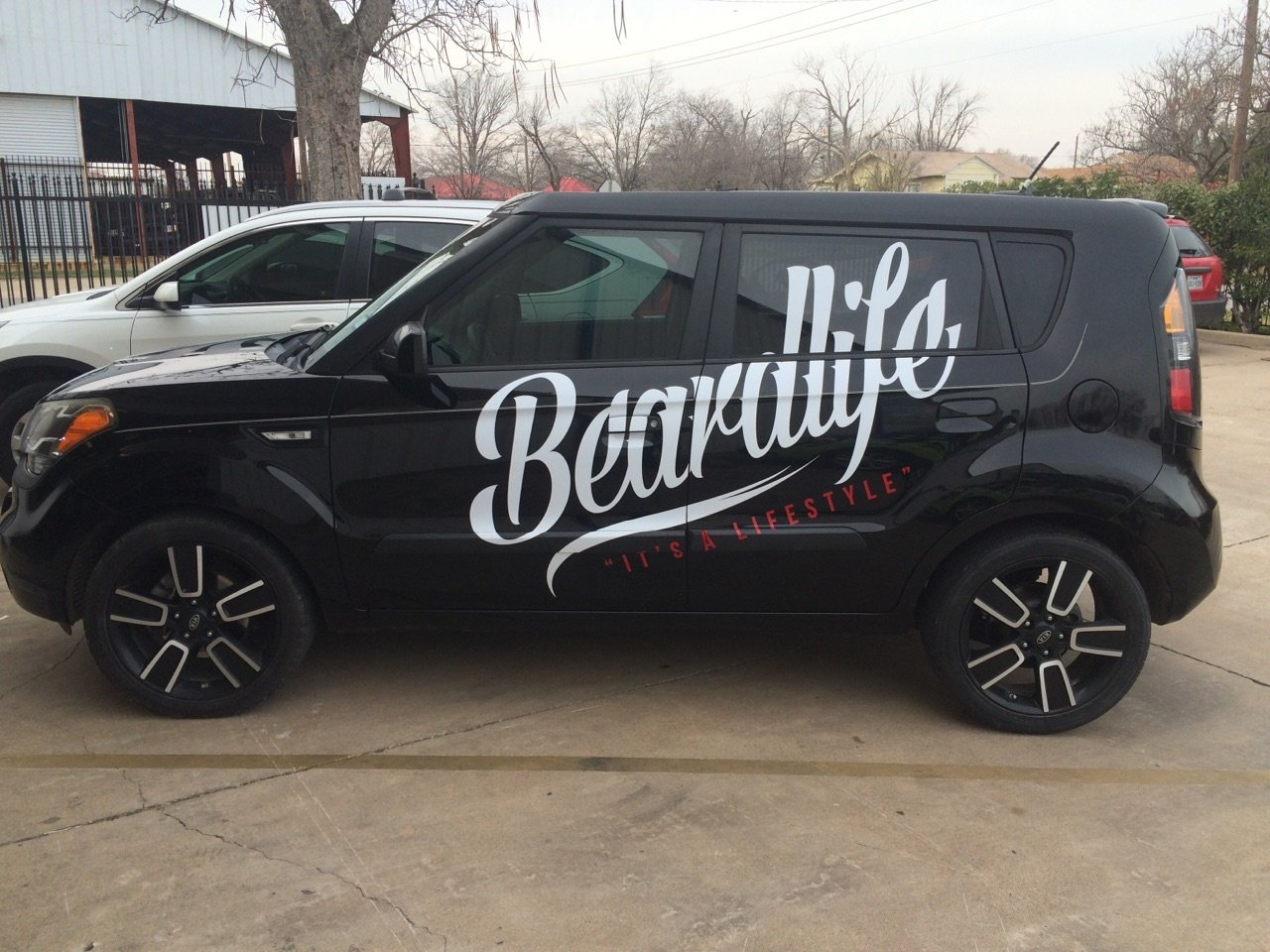 Beardlife Vehicle Sticker