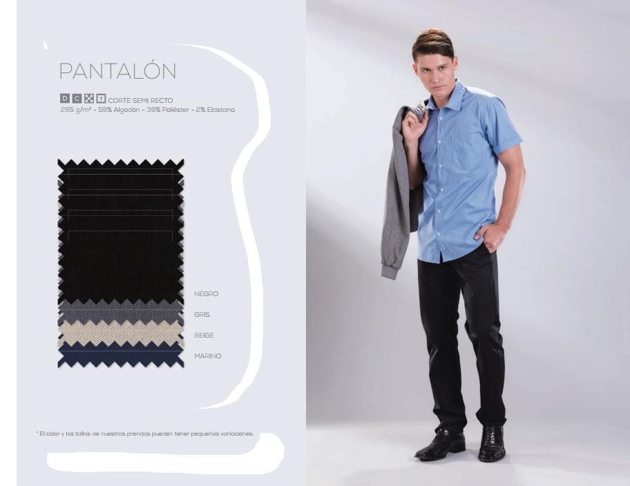 Pantalón -  semi recto