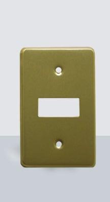 PL-AL-1 Placa Aluminio 1 Ventana