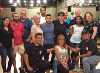 Salsa Dance Students after class