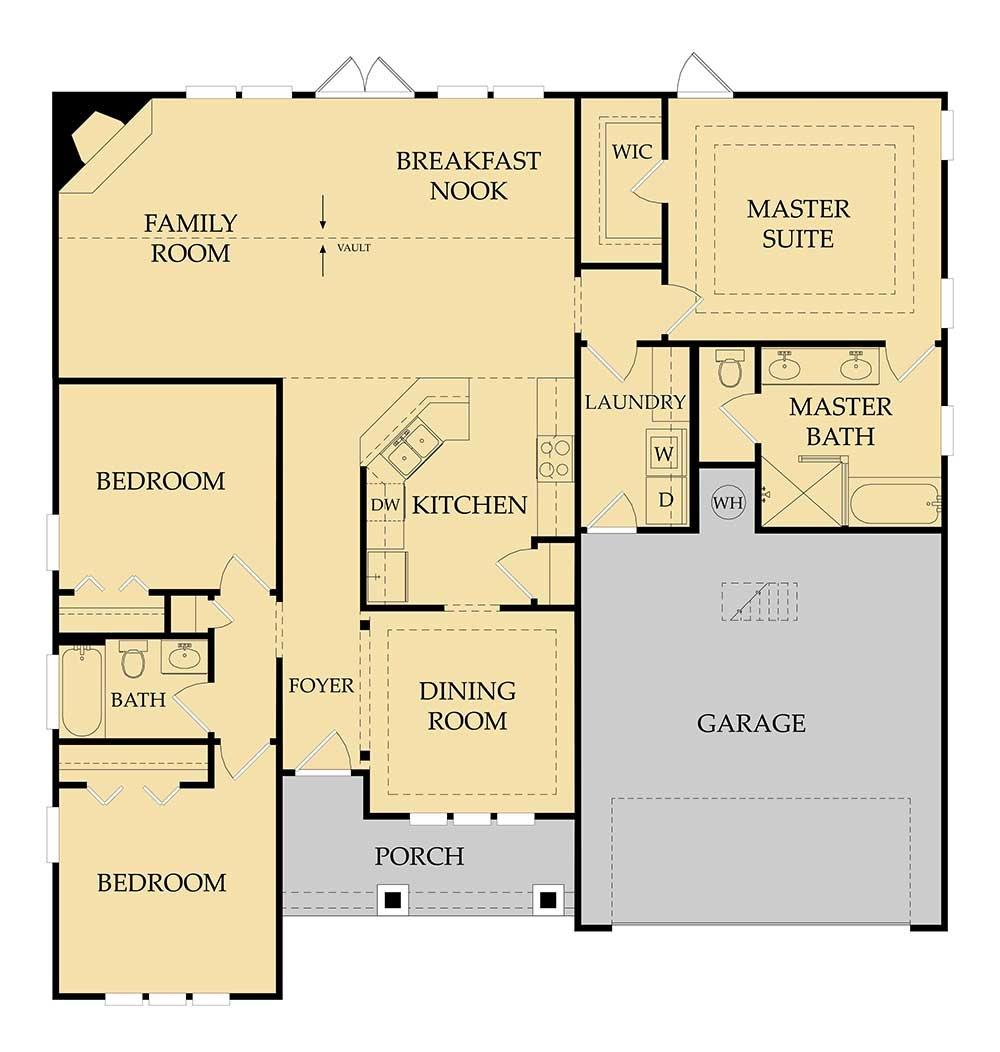 McCall Floor Plan