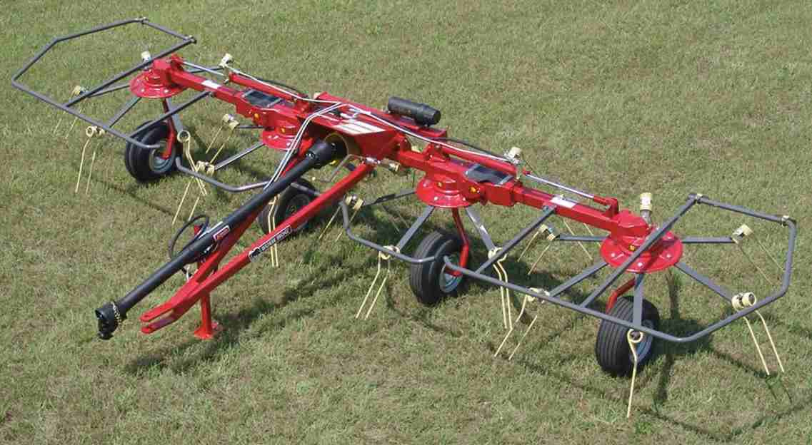 HT417H Tedder, We Stock the 17 or 19 ft, both Hydraulic Fold