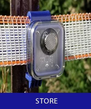 Flashing Insulator Fence Monitor Insulights