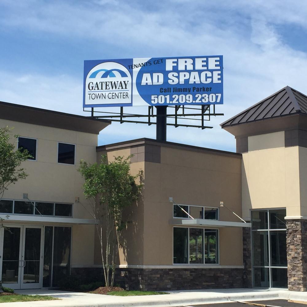 Billboard @ Gateway Town Center  Little Rock, AR