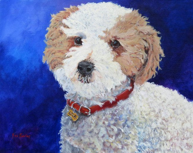 Lola - Commission Acrylic on Canvas