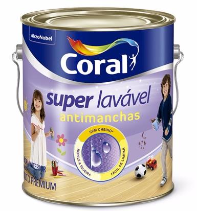 Tinta Acrílica Acetinada Premium Super Lavável - Coral