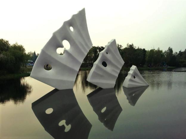 Under Full Sails- granite- Changsha - China