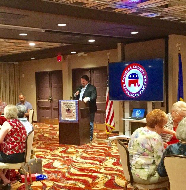Michael McDonald speaks at July 2019 DCRW Meeting.