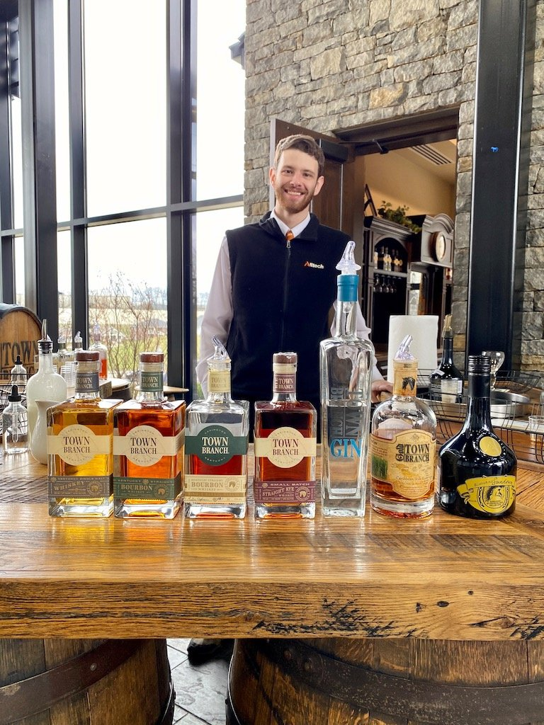 Spirits Tasting -Lexington Brewing & Distilling Co (Town Branch Distillery)