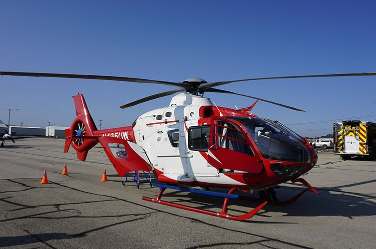 Medical Response Helicopter